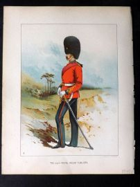 Richards Her Majesty's Army 1890 Military Print. 23rd Royal Welsh Fusiliers